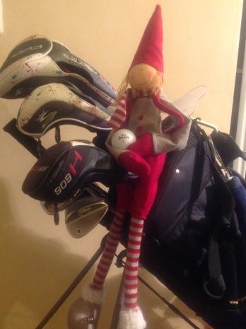 Rauhaisaa joulun odotusta kaikille golfareille!