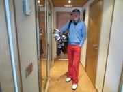Päivän golfkierros alkamassa