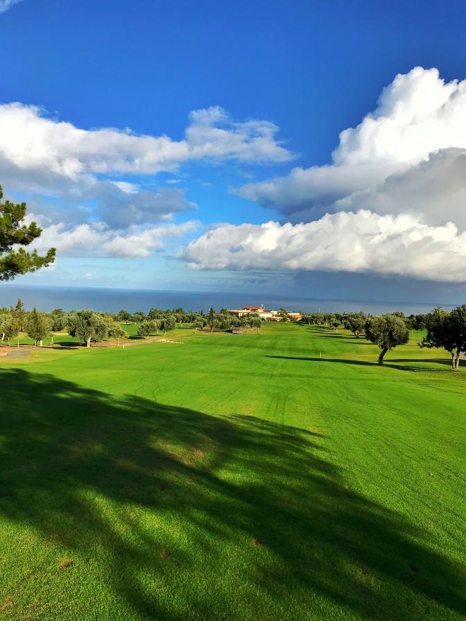 Golfpassin matkassa Korineum Golf & Beach Resortissa