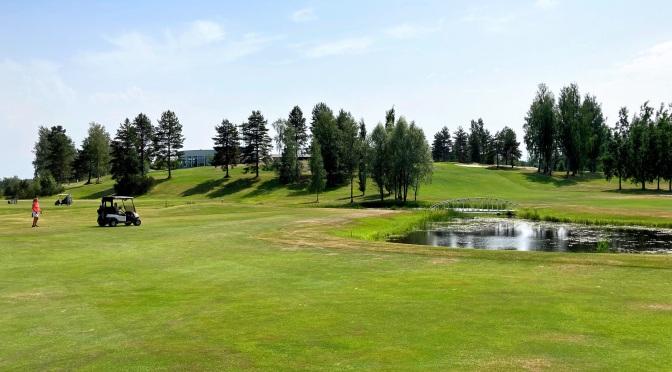 Kesän 2021 ensimmäiset uudet kenttäbongaukset Golf talma ja nevas golf